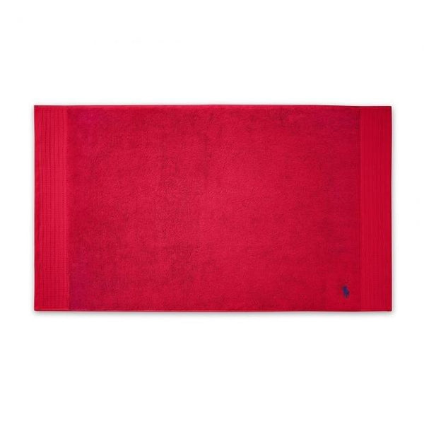 Ralph Lauren Player Red Rose Towel