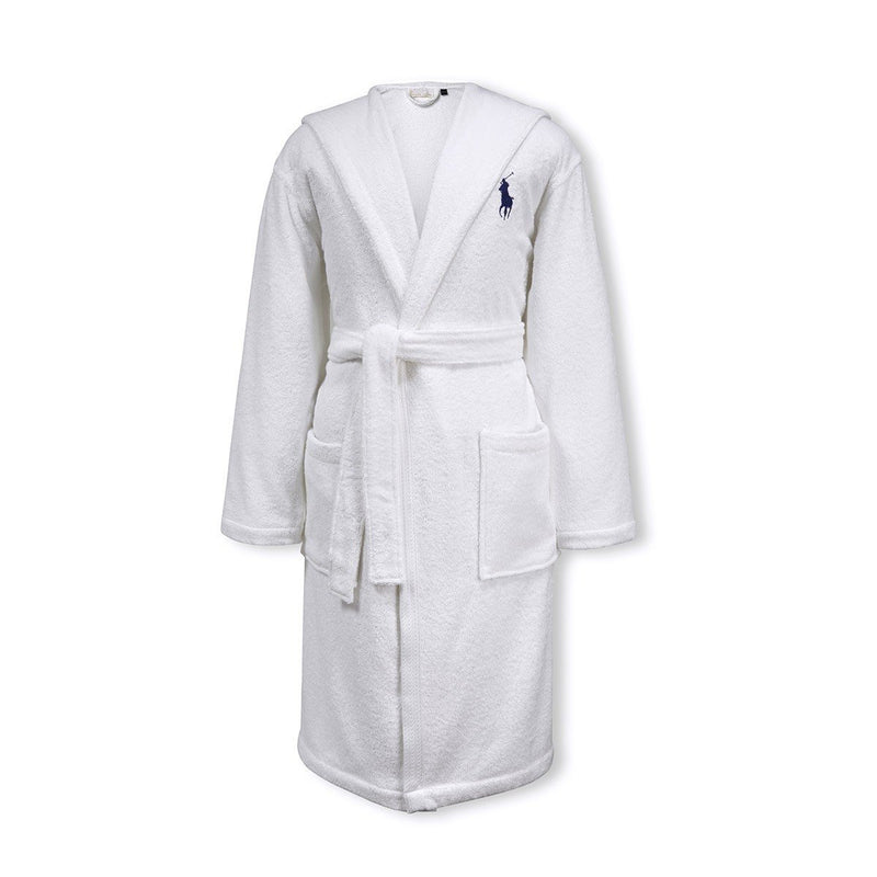 Ralph Lauren Player White Robe
