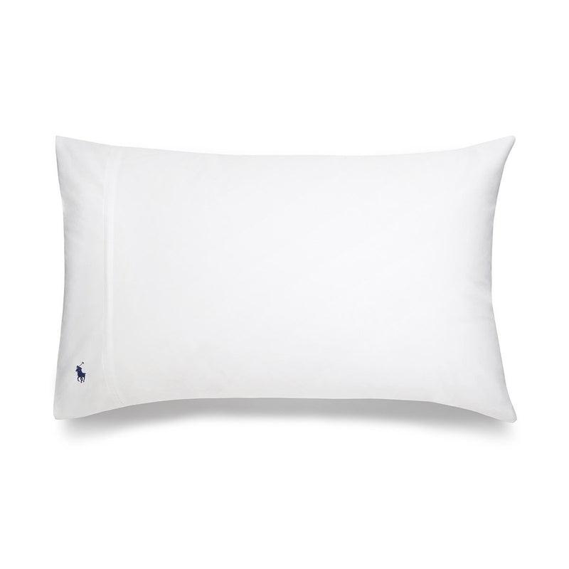 PLAYER WHITE PILLOWCASE PAIR
