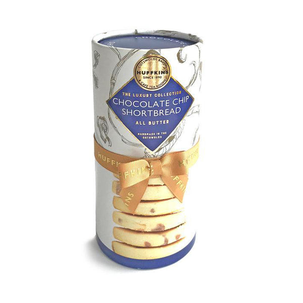 All-Butter Chocolate Chip Shortbreads Gift Tube 315g