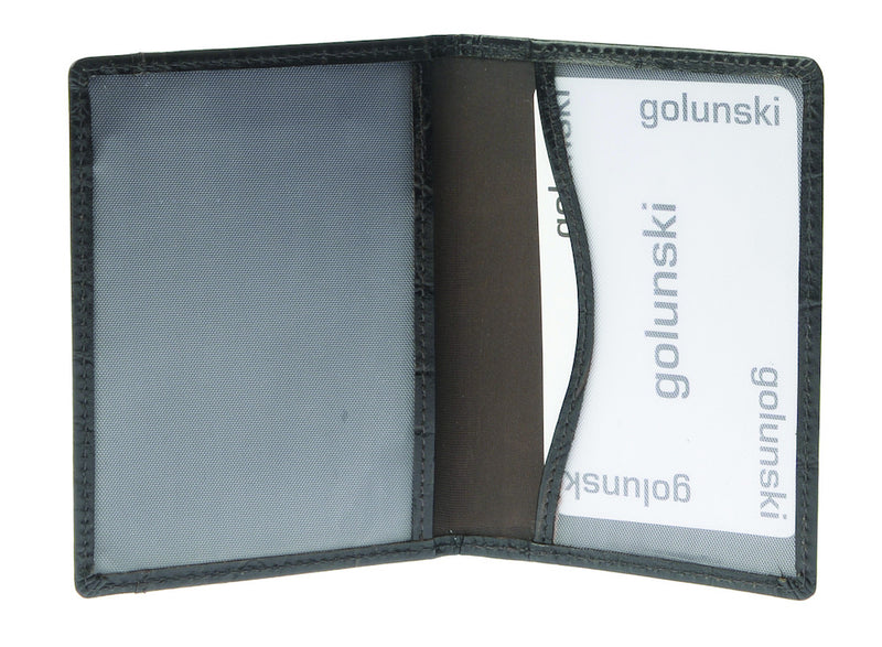 Golunski Travel Pass Holder