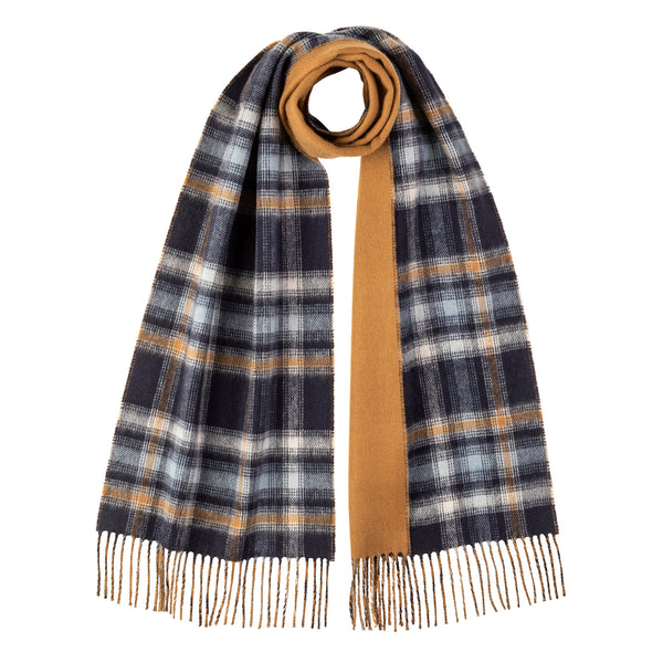 REVERSIBLE 100% CASHMERE SCARF