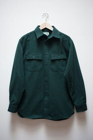 Green Flannel L.L. Bean Shirt Jacket
