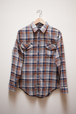 Western Plaid Button Up