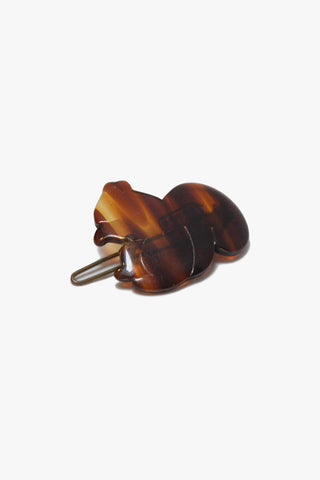 Deadstock Tortoise Shell Squirrel Barrette
