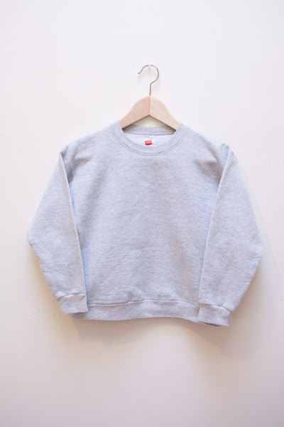 Cropped Gray Sweatshirt