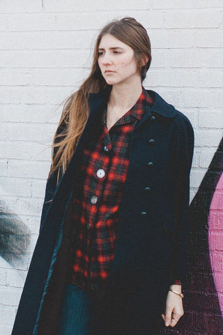 Pendleton Plaid Shirt Jacket