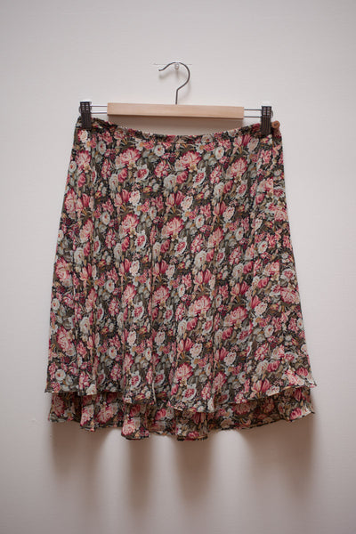 Floral 90's Skirt
