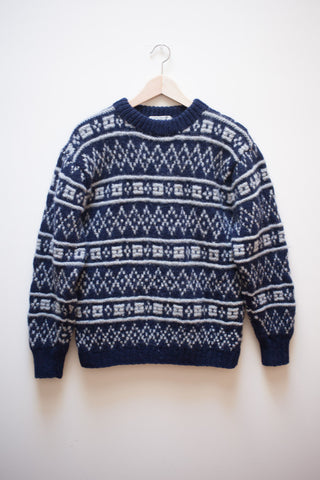 Hand Knit Gap Sweater