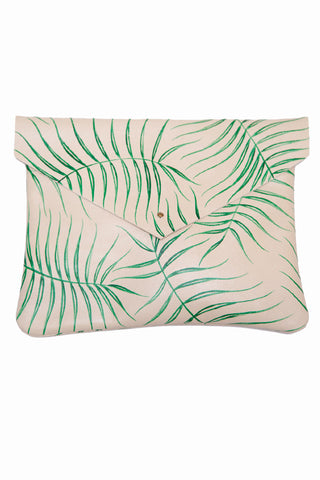 Kertis Wild Fern Envelope Clutch