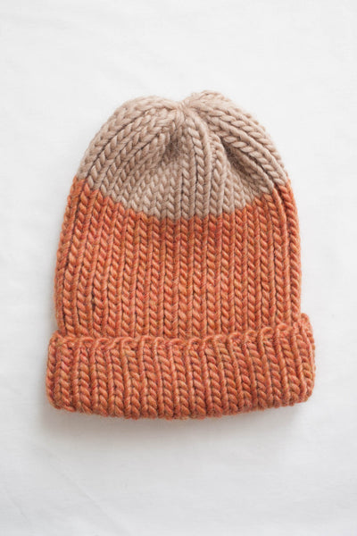 Jarvis Fisherman Toque in Coral