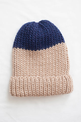 Jarvis Fisherman Toque in Navy