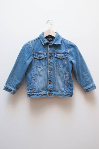 Cropped Mini Denim Jacket