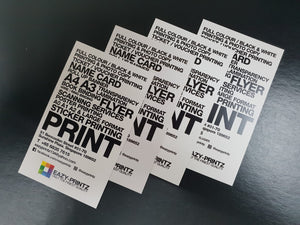 Best Quality Professional Business Card | eazyprintz - Top Printing Service In Singapore