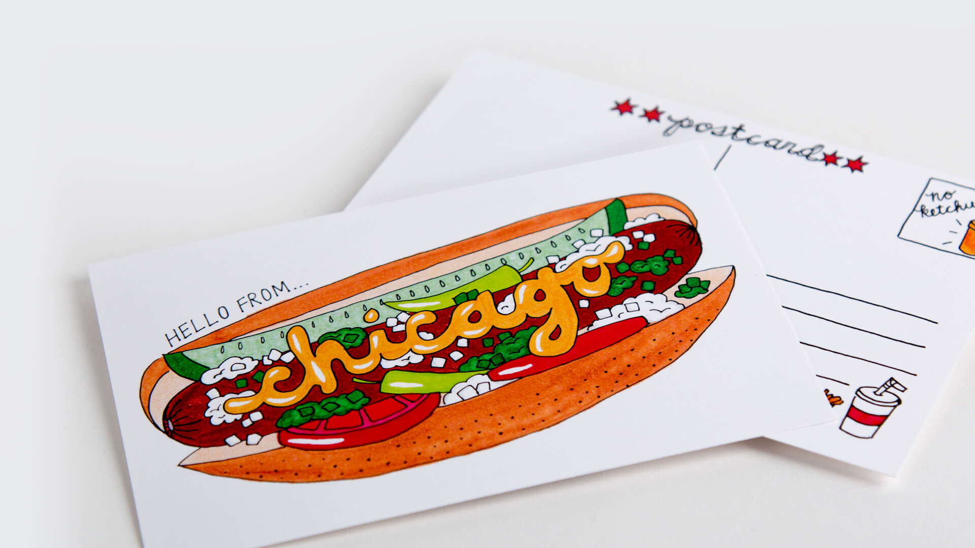 On demand Custom Postcard Printing Service - eazyprintz - Top Printing Service In Singapore