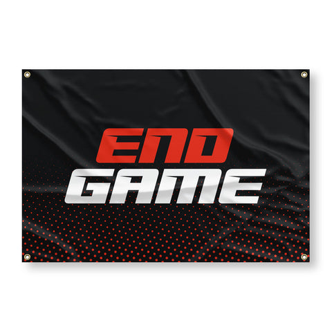 END GAME Flag
