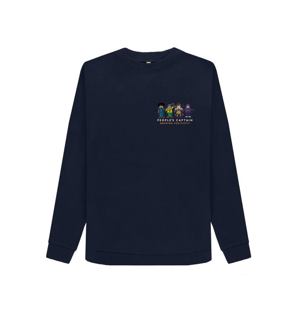 Navy Blue Women's Navy People's Captain Sweatshirt