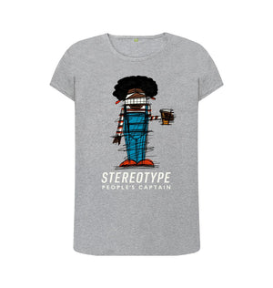 Athletic Grey Women's Stereotype T-Shirt