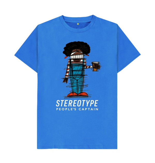 Bright Blue Men's Stereotype T-Shirt