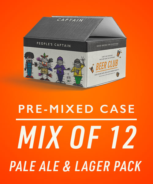 Beer Club Gift - 6 Months - Mixed Case - Pale Ale & Lager - 12 Pack