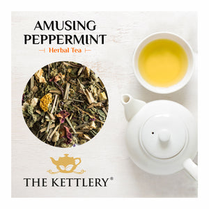 Amusing Peppermint Tea with Lemongrass & Rose