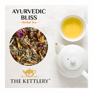 Ayurvedic Bliss Lemongrass Herbal Tea