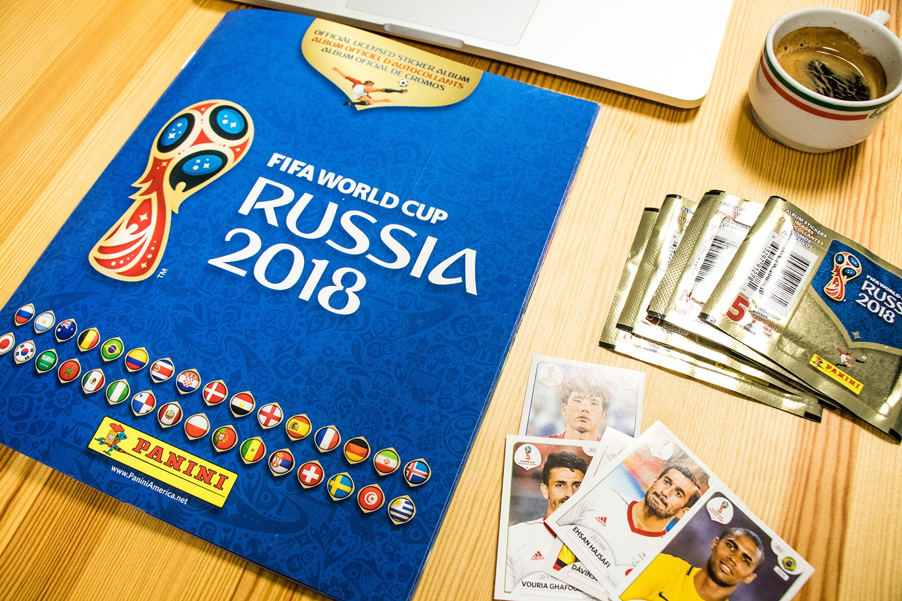 Panini Sticker Album 2018