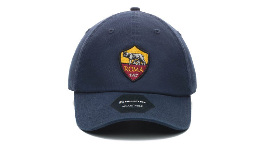 fi collection as roma dad hat navy, 100% twill cotton
