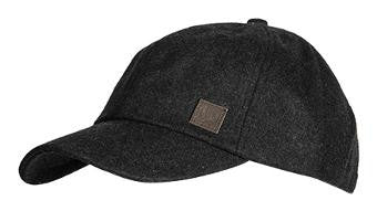 Fred Perry Wool Cap Charcoal