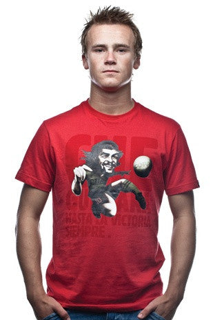 COPA Football Che Guevara Short Sleeve Red T-Shirt