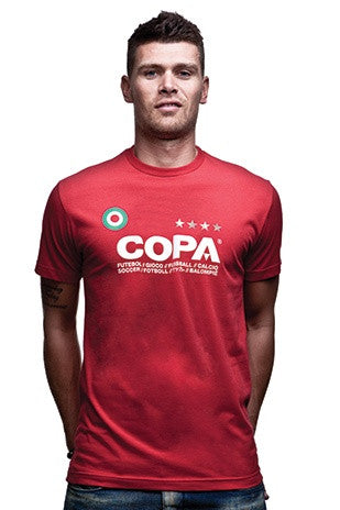 COPA Logo T-Shirt - Red