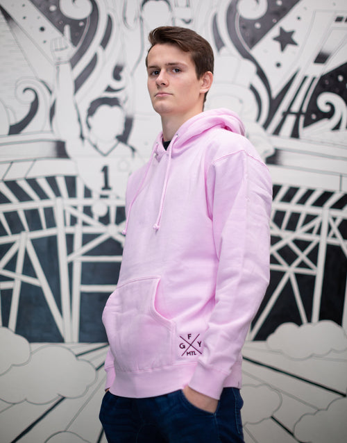 GFY Alternate Logo Hoody - Soft Pink