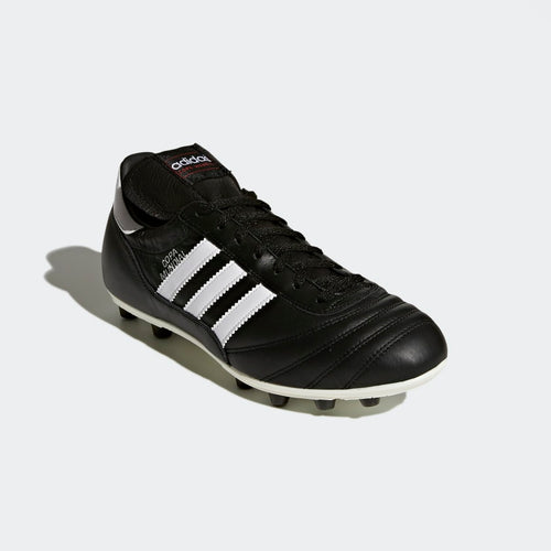 side view of the adidas copa mundial firm ground soccer cleat