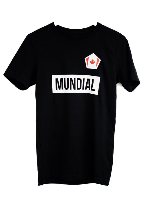 Canada Mundial T-Shirt - Black (World Cup)