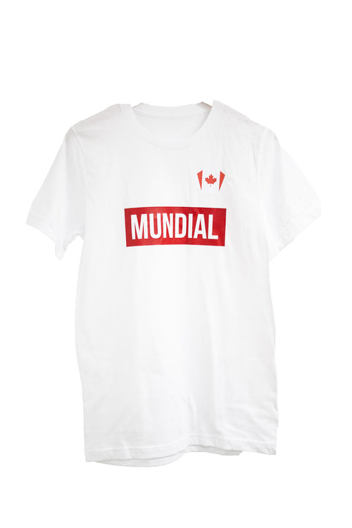 Canada Mundial T-Shirt - White (World Cup)