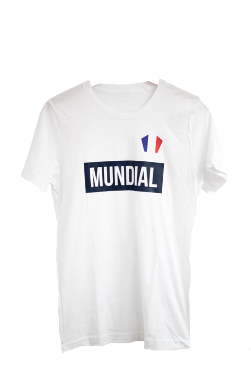 France Mundial T-Shirt - White (World Cup)