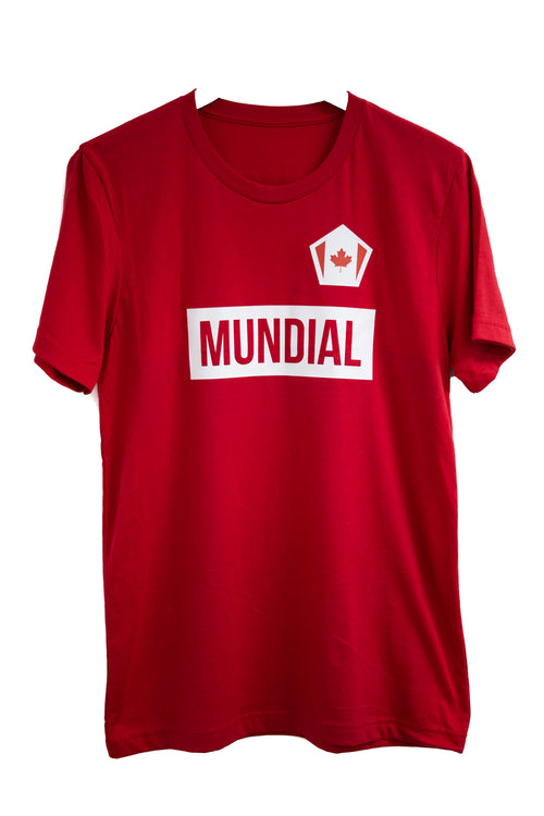 Canada Mundial T-Shirt - Red (World Cup)