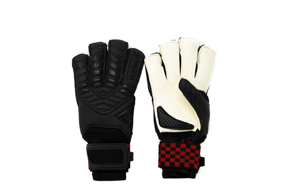Aviata Halcyon Turf Pro Goalkeeper Gloves, Roll-Finger & Flat Cut, Finger Protection