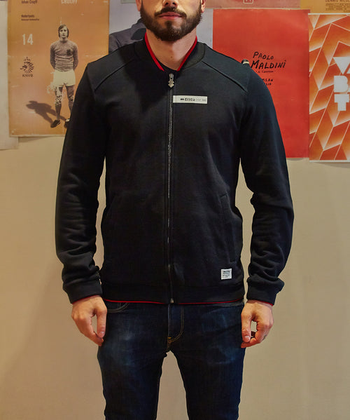 Errea Royce FZ Jacket Black
