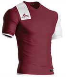 Short Sleeve polyester soccer jersey. Manufactured by Eletto Sport.