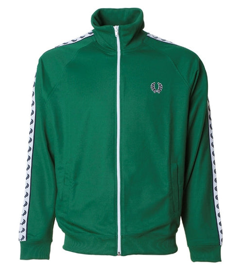 Fred Perry Laurel Taped Jacket Green