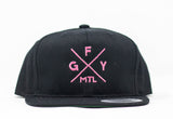 GFY Youth Alternate Cap - Black/Pink