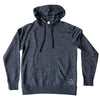 GFY Alternate Logo Pull Over Hoody, Dark Heather