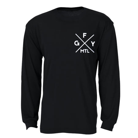 GFY Alternate Offset Logo Pull Over - Black