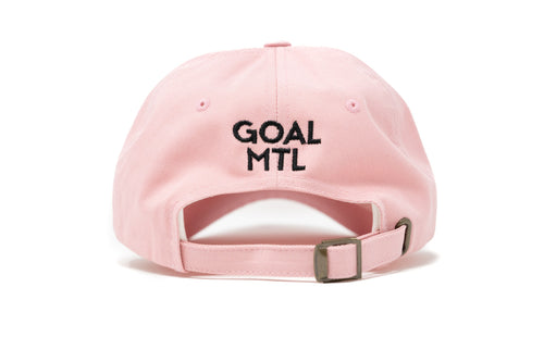 GOAL X GFY Dad Cap, Pink, Back View