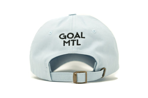 GOAL X GFY Dad Cap, Sky Blue, Back View