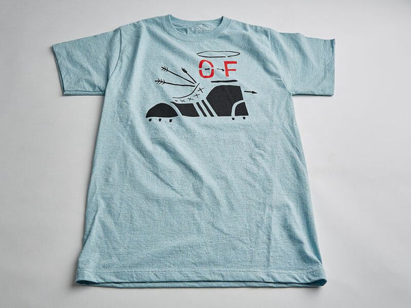 Off-Foot Logo T-Shirt Light Blue