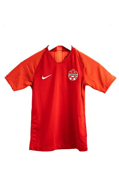 Nike Canada Home Youth Soccer Jersey '19