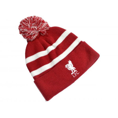 Liverpool Pom Beanie - red/white