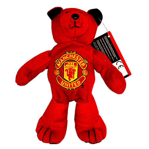 Manchester United Red And Black Mini Plush Bear